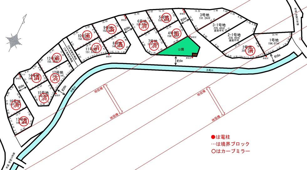 売地 2期 辻井 17区画