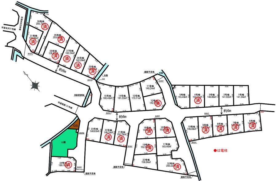 売地 4期(N) 加古川町稲屋 全32区画