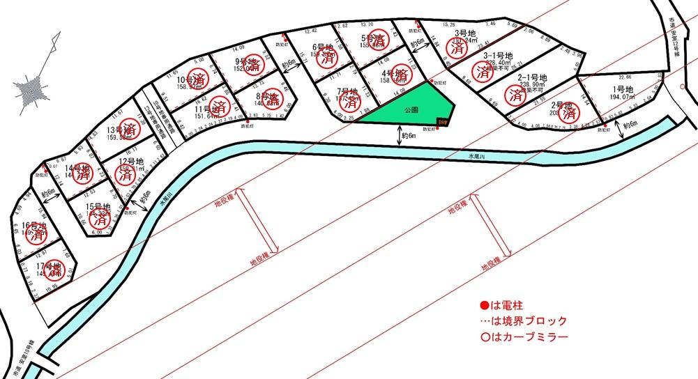 売地 2期辻井3丁目 17区画