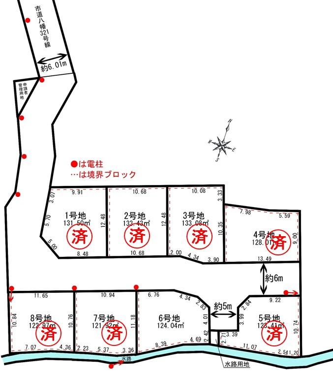 売地 4期 西蒲田 8区画